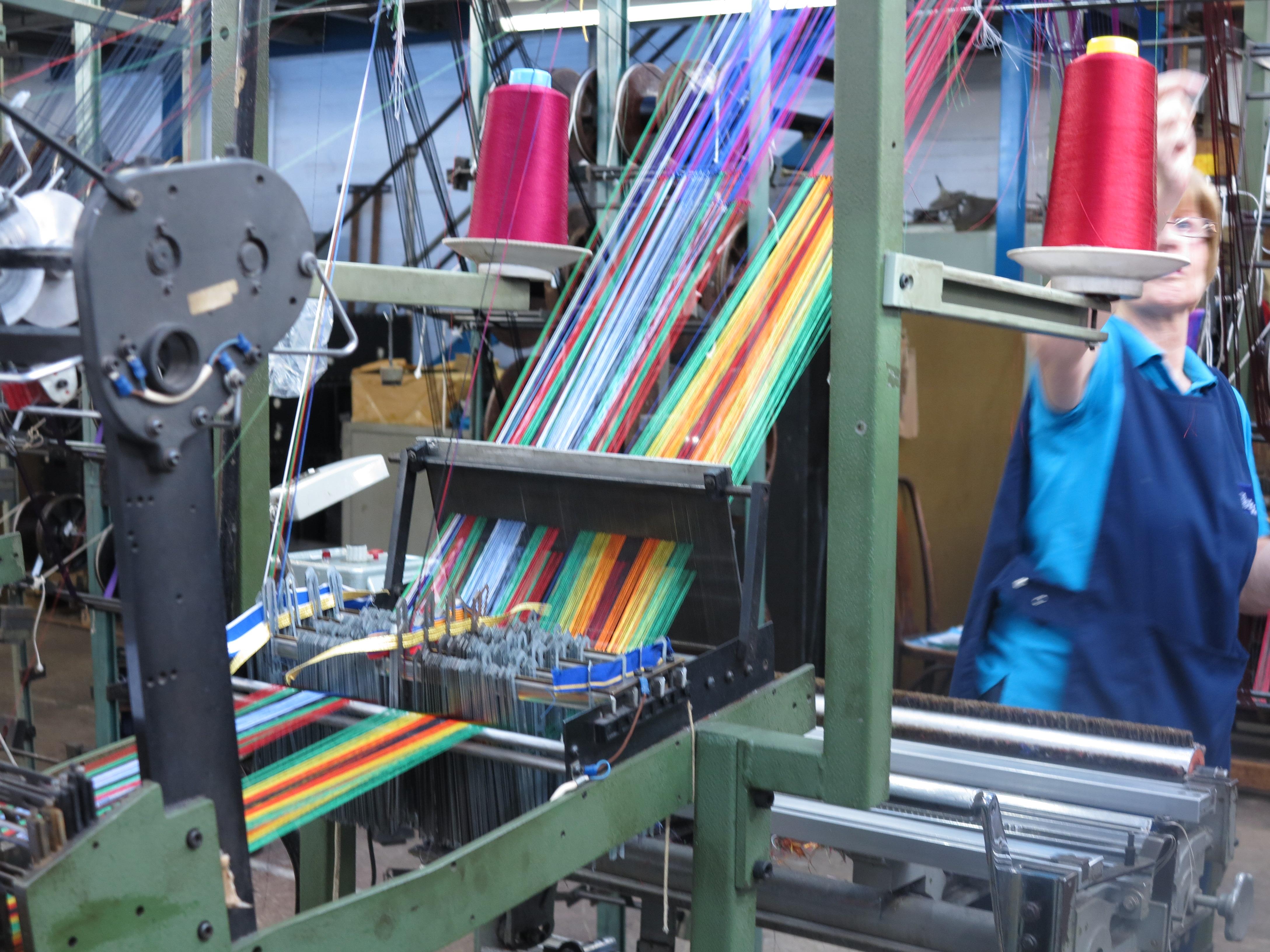 Toye Kenning Spencer – a fascinating visit | The Weavers' Workshop